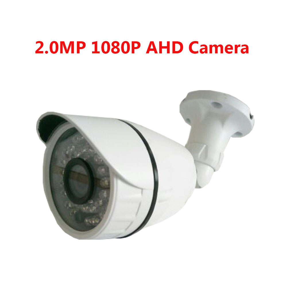 Ahd camera 1080p 2MP Surveillance Cam IR Waterproof Outdoor / indoor CCTV Security Camera CMOS 36pcs IR LED Day&Night Camera new 800tvl cmos 960h 36pcs ir leds 30 meters day night waterproof surveillance cctv camera with bracket for indoor or outdoor