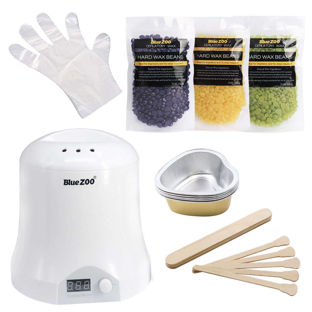 Depilation Wax Beans No Strip Depilatory Home And Beauty Tools Hair Remover Wax Heater Waxing Kit Hair Removal Set With Tools depilation wax beans no strip depilatory home and beauty tools hair remover wax heater waxing kit hair removal set with tools