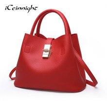 iCeinnight Free Shipping Luxury Handbag Women Bags Designer Brand Famous Shoulder Female Vintage Shoulder Bag Fashion Messenger