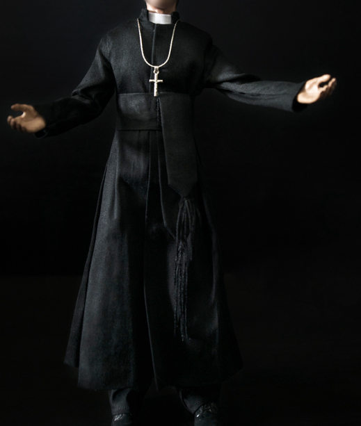 1/6 scale figure doll clothes male PRIEST VESTMENT suit for 12 Action figure doll accessories not include doll,shoes and other 1 6 figure doll male clothes batman joker coat suit for 12 action figure doll accessories not include doll shoes and other n354