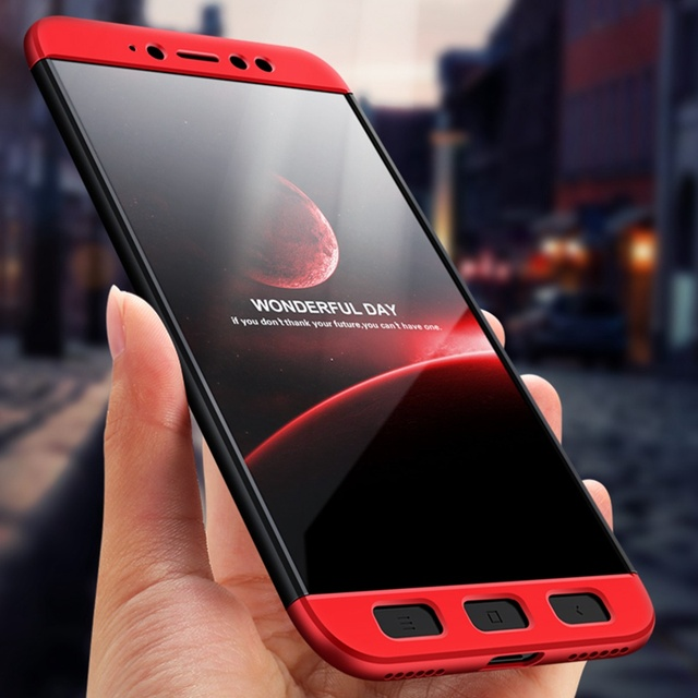 sale retailer d67bb fafc9 MUXMA For Xiaomi Redmi Y1 360 Full Body Protection Case For Redmi Note 5A  Prime Ultra Thin Matte Coque Hybrid Plastic Phone Case-in Fitted Cases from  ...