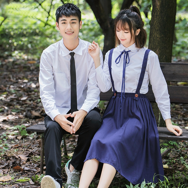 2019 New Hot Japanese Korean British Students School Uniform Students Class Service Summer Japanese Women Novelty Uniforms XXXL