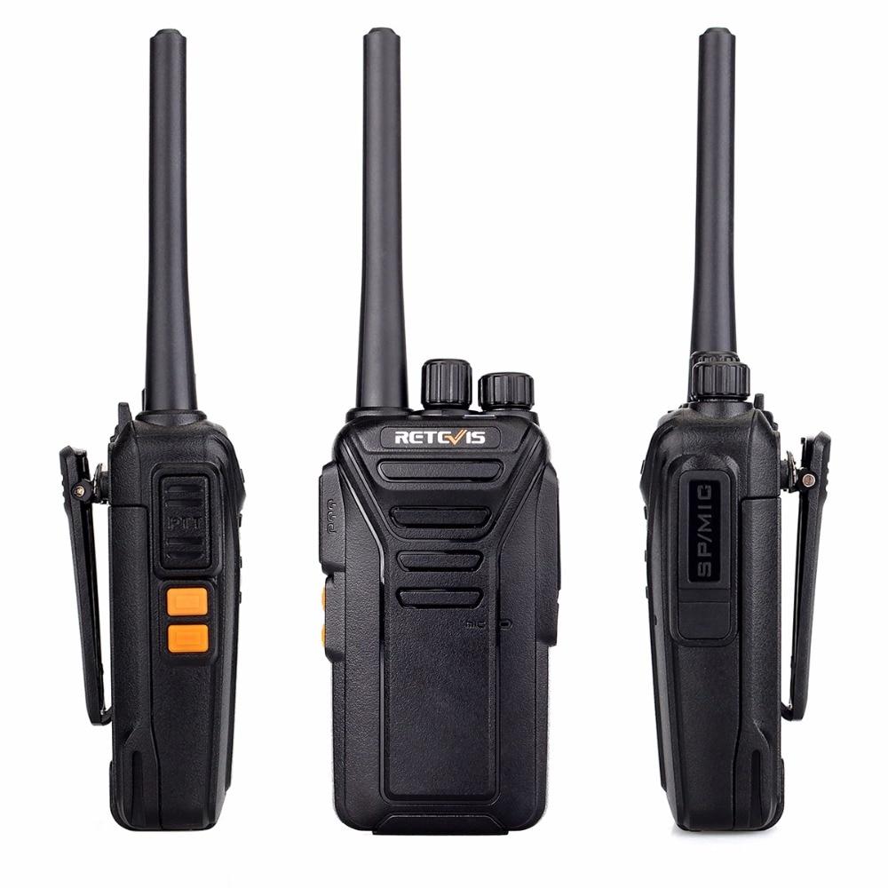 4*Retevis RT27 2-Way Radio VHF license-free MURS Handheld 4*Earpiece+1*Cable US