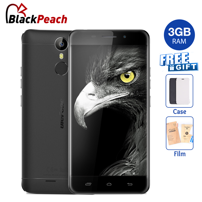 bilder für Ulefone Metall 4G Handy 5 zoll HD MTK6753 Octa-core Android 6.0 3 GB RAM 16 GB ROM 8MP CAM Fingerprint ID Smartphone