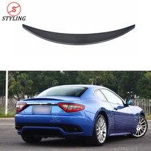 GTS spoiler For Maserati Gran Turismo Sport Rear Bumper trunk spoiler wing 2007 2008 2009 2010 2011 2012+