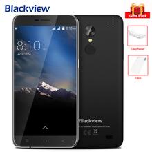 "Blackview A10 Handy Android 7.0 5,0 ""Ips-bildschirm 8MP MT6580A Quad Core 1,3 GHz Fingerprint Doppelnocken 3G Smartphone 2800 mAh"