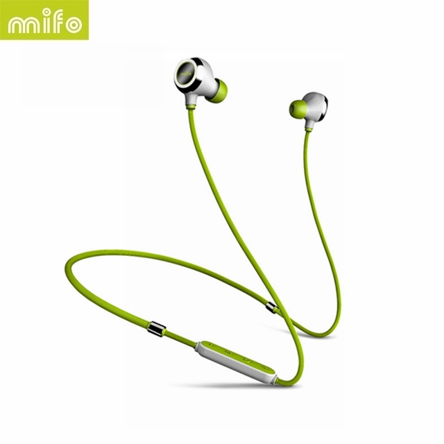 [Original] Mifo i6 Magnetic Neckband Stereo Music Bluetooth Earphone Wireless Workout Sport HiFi Earbuds Magnet Attracs Charging hbs 760 bluetooth 4 0 headset headphone wireless stereo hifi handsfree neckband sweatproof sport earphone earbuds for call music