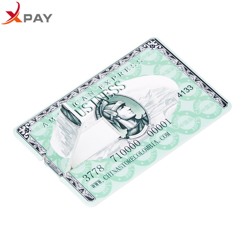Image 5 - XPAY Usb flash drive 32GB 2.0 Super thin Credit Card pen drive 4GB 8GB 16GB 64GB for gift high quality 128GB pendrive Free Logo-in USB Flash Drives from Computer & Office