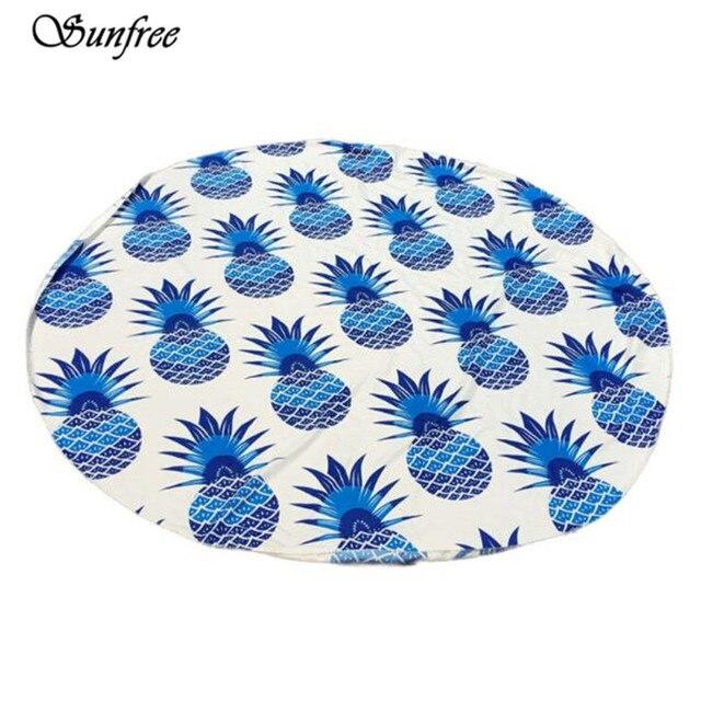 Sunfree 2017 HOT SALE Fashion Round Beach Pool Home Shower Towel Blanket Table Cloth Brand New High Quality Jan 16