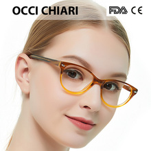 3066882486 OCCI CHIARI Women Optical Frames Eyewear Gradient Myopia Eyeglasses Acetate