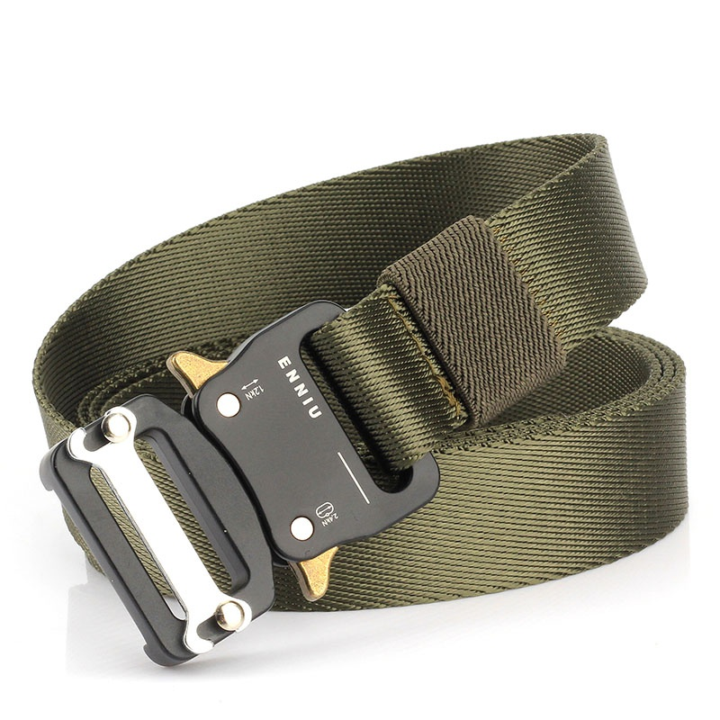 HTB1dT oUNTpK1RjSZFMq6zG VXaj - Tactical Belts Nylon Military Waist Belt with Metal Buckle Adjustable Heavy Duty Training Waist Belt Hunting Accessories
