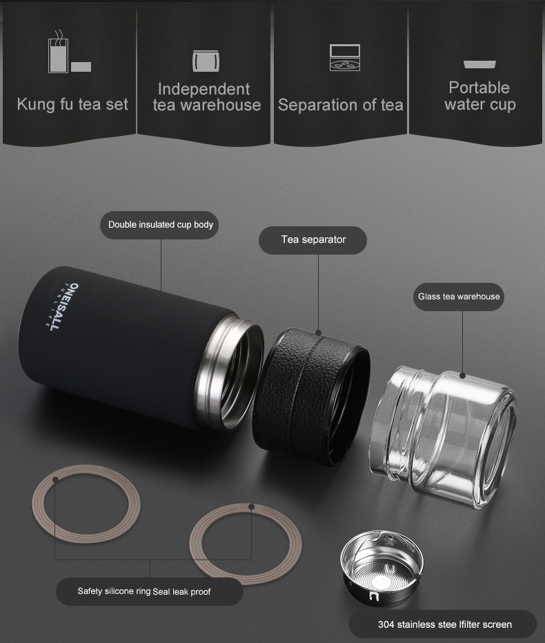 HTB1dT rNSzqK1RjSZFHq6z3CpXav Thermos Bottle Stainless Steel Tea Partition Thermo Cup Glass Tea Strainer Thermos Mug Bottle Vacuum flask Bottles 400ml + 200ml