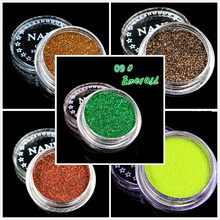 1 Box Emerald 23 Color Glitter Eyeshadow Powder Pigment Mineral Spangle Smooth Makeup Cosmetic Set Waterproof Long-lasting(China)