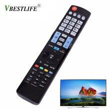 VBESTLIFE inteligentny pilot do TV kontroler zamiennik do LG AKB73615306 HDTV telewizor LED bezprzewodowy pilot zdalnego uniwersalny darmowa wysyłka