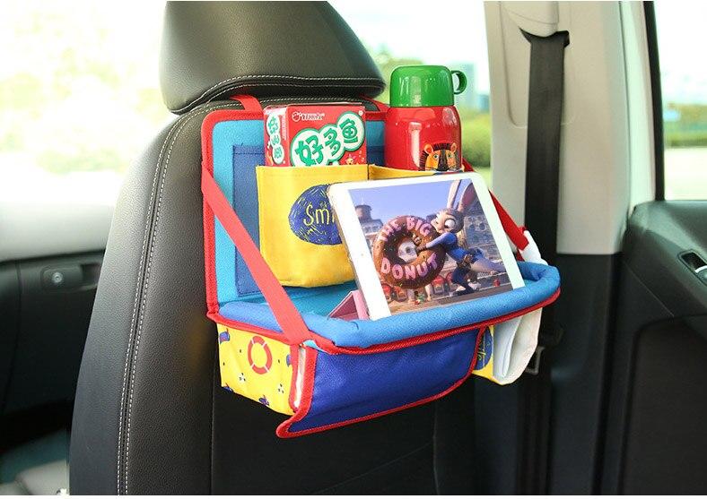 Activity & Gear Universal Baby Car Hanging Basket Storage Bag Car Seat Back Organizer With Tablet Holder Travel Storage Bagstroller Accessories Mother & Kids