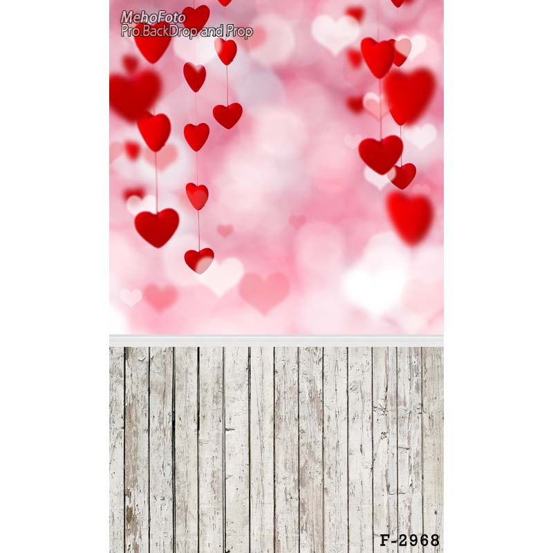 valentine' day Vinyl cloth photography backdrop Computer Printing background for photo studio backdrop F-2968 8x10ft valentine s day photography pink love heart shape adult portrait backdrop d 7324