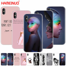 HAMEINUO No Tears Left To Cry ariana grande cell phone Cover case for iphone X 8 7 6 4 4s 5 5s SE 5c 6s plus(China)