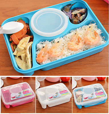 portable bento lunch box utensils food storage containers. Black Bedroom Furniture Sets. Home Design Ideas