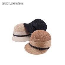 все цены на 2019 Spring Summer Fashion Hat Breathable Belt Straw Hats Women Hats Women's Baseball Caps Outdoor sun Cap Equestrian Hat