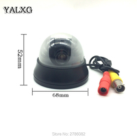 Alarm Systems Security Home CCTV 1 3 CCD 480 TV Lines 1 7 3 6mm HD