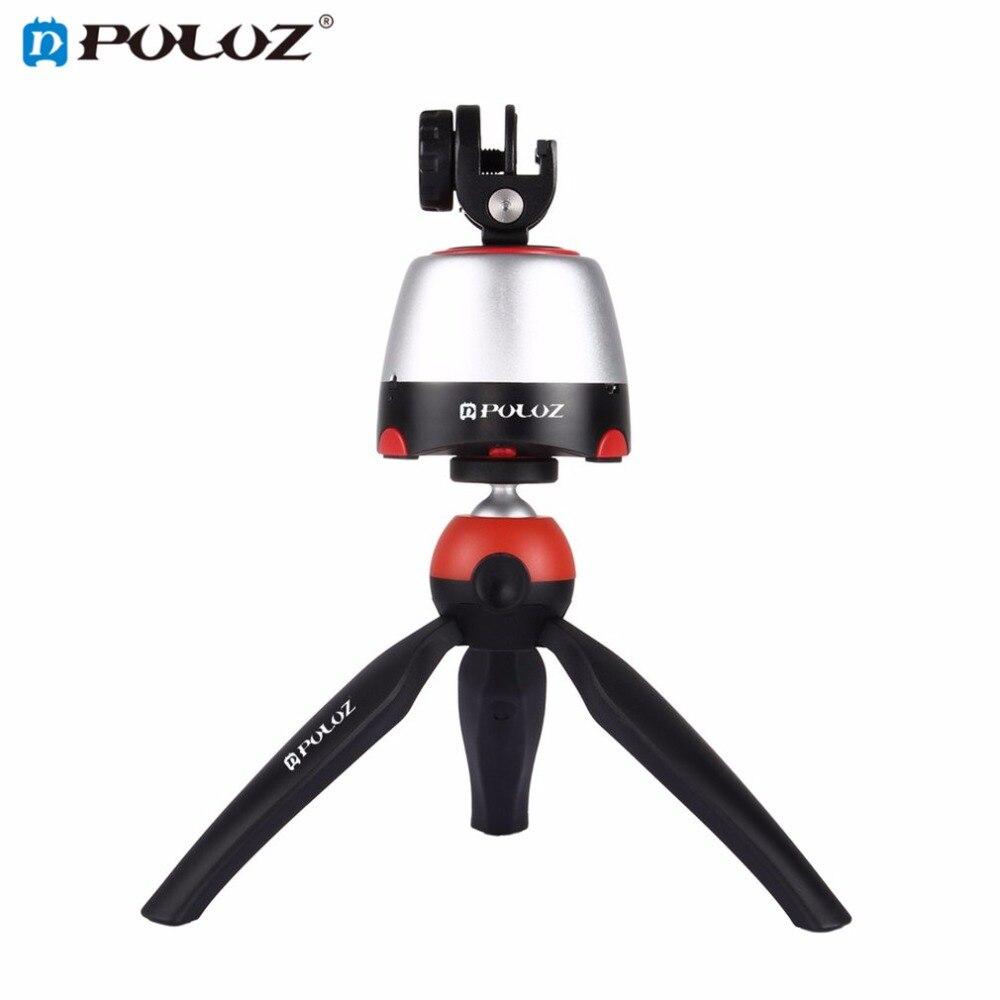 Puluz промежуток времени 360 градусов Автоповорот Камера штатива 360 градусов вращения панорамный головкой с пультом дистанционного управления...