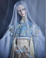 Refined version Retro Japanese Style Haunted night Snorunt Kimono For 1/3 1/4 Uncle Boy Girl SD MSD BJD Doll Clothes