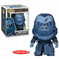 Funko Pop New Arrival 6 Inch Game of Thrones: Giant Wight Vinyl Song Of Ice And Fire Action Figures Collectible Model Toys Gifts