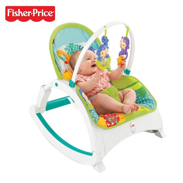 genuine fisher price brand dmr87 baby chair rainforest friends