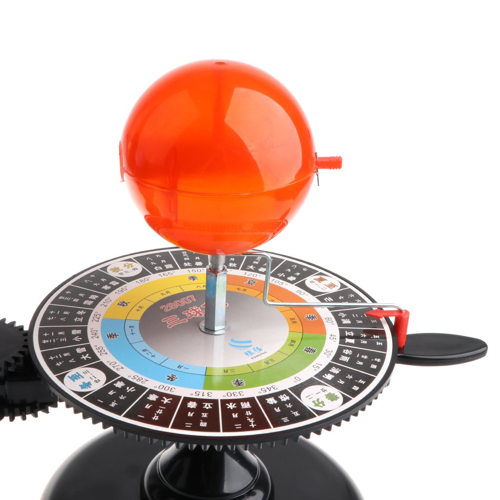 Modèle de système solaire bricolage assemblé Science apprentissage modèle de planétarium éducatif jouets cadeau d'anniversaire pour enfants enfants en bas âge - 5