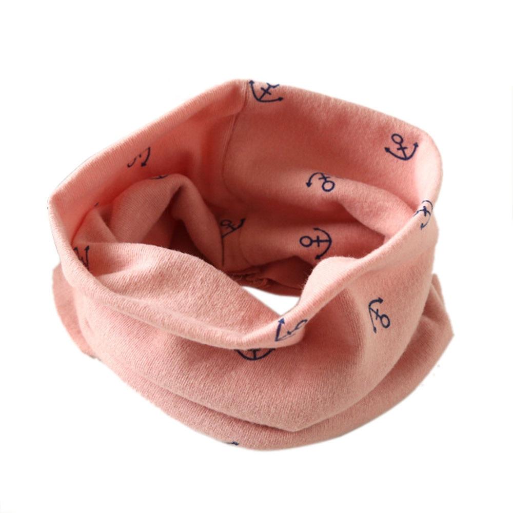 TELOTUNY Boys Girls Scarves Autumn Winter Kids Scarf Cotton O Ring 2-10T 1C0419
