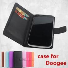 9 цветов кожаный чехол Для Doogee Valencia 2 Y100 Pro откидная крышка корпуса с карт памяти для Valencia2 Y 100 чехол телефона случаях