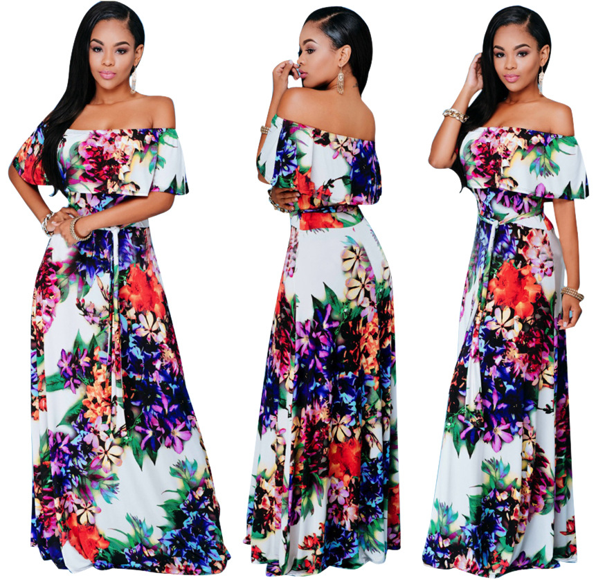 2019 African Dresses Clothing Traditional Dresses Dress Special Offer Cotton Africa Bazin Riche New Style Fashion Women Clothes
