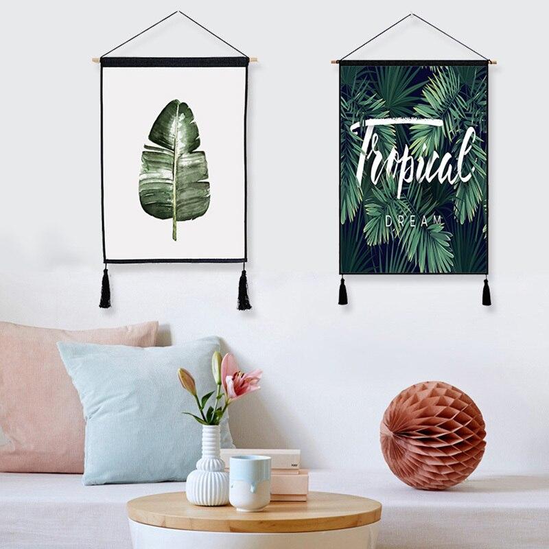 1 Stück Nordic Poster Anlage Malerei Wandbilder Für Wohnzimmer 45*65 Cm Hängen Gemälde Moderne Wohnkultur