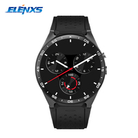 1 39 Inch Smart Watch Men KW88 IOS Android 5 1 Bluetooth Smartwatch Heart Rate Monitor