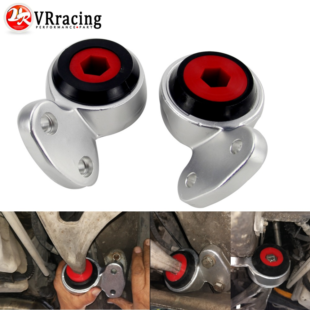 VR RACING - Front Lower Control Arm Bushings For BMW E46 E85 325i 330i Z4 99-06 VR-CAB16