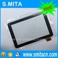 10.1 pulgadas Tabletas PC Táctil del Reemplazo de Cristal Táctil para HKC X106 dual core YTG-P10005-F1 P27378A-LLT V1.1 258x171mm digitalizador