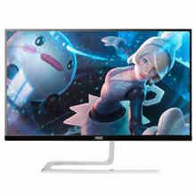 "freeshipping 23"" LCD monitor HDMI+VGA Resolution 1920*1080 IPS screen desktop display 23 INCH AOC I2381FH/BW BLACK COLOR(China (Mainland))"