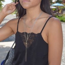 New Bohemian Multi layer Necklaces Jewelry Sliver & Gold Color with Crystal