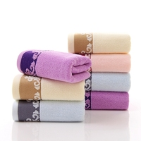 100 Cotton Very Comfortable Cheap Good Quality Cotton Face Towel High Water Absorbent 33x75cm Towels Super