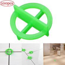 100 шт зеленый или белый крест выравнивания перерабатываемой пластиковой плитки выравнивания системы основания разделительные плитки и плитки