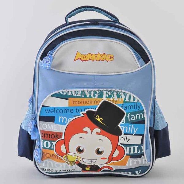MOMOKING school bag, school backpack, famous cartoon brand kids, school bags for boy, backpack promotion free shipping 33404002
