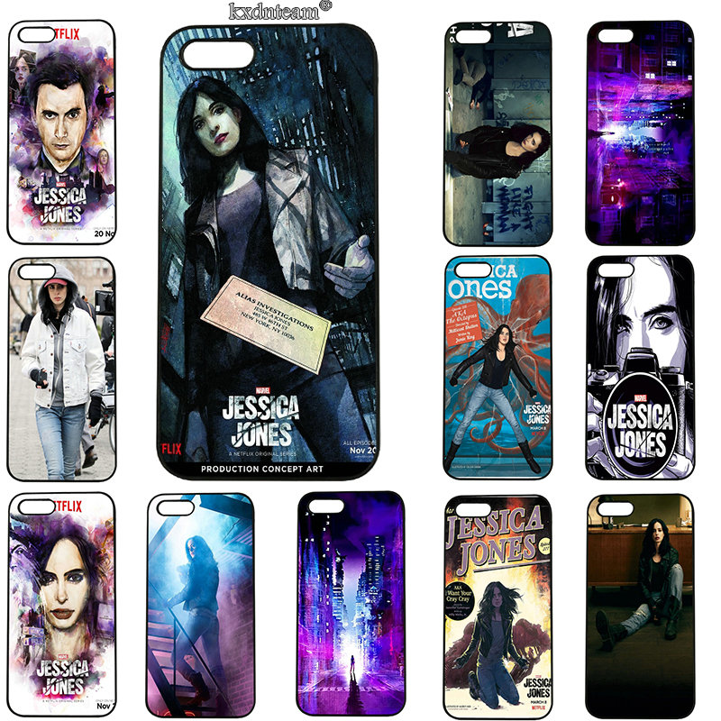 Cell Phone Cases Hard PC Plastic Cover Hot Jessica Jones Collage for iphone 8 7 6 6S Plus X 5S 5C 5 SE 4 4S iPod Touch 5 6 Shell
