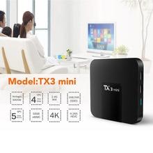 2019 new home TX3 mini Android 7.1 Smart TV BOX Amlogic S905