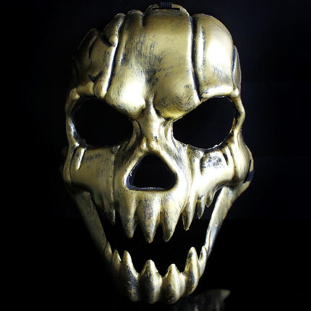 Aliexpress.com : Buy Skull Mask Caretas Halloween Retro Imitation ...