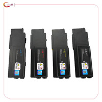 Compatible 4 Pack Toner Cartridges for Dell C2660 C2660dn C2665dn C2665dnf C2665 593 BBBU 593 BBBT 593 BBBS 593 BBBR
