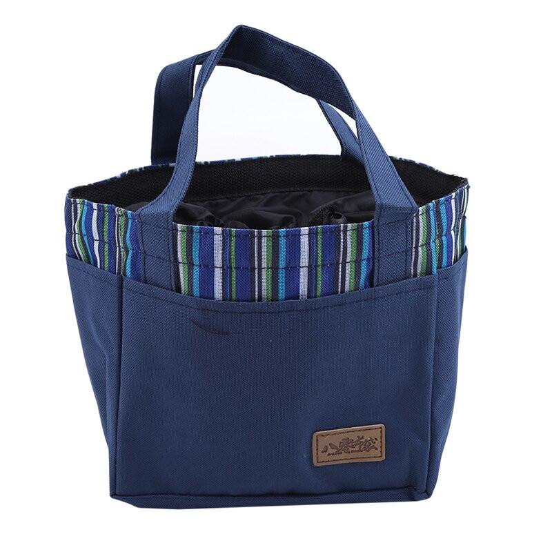 Funktionale Taschen Zuversichtlich 2019 Neueste Mode Tragbaren Isolierte Leinwand Mittagessen Tasche Thermische Lebensmittel Picknick Mittagessen Taschen Kühler Lunch Box Tasche Tote Hohe Qualität So Effektiv Wie Eine Fee Mittagessen Taschen
