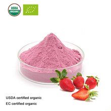 USDA and EC Certified organic strawberry juice powder