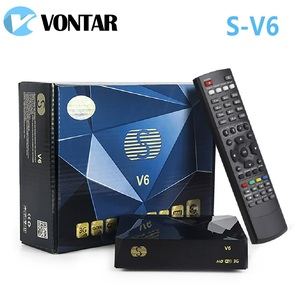 Image 2 - [De] S V6 Mini HD DVB S2 satélite recibidor compatible con compartir tarjeta xusb Xtream Satelital Wifi USB 3G Biss clave Youtube