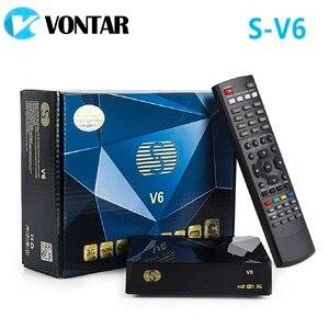 Image 2 - [Véritable] S V6 Mini HD DVB S2 récepteur Satellite prise en charge partage de carte Newcamd Xtream Satelital USB Wifi 3G Biss clé Youtube