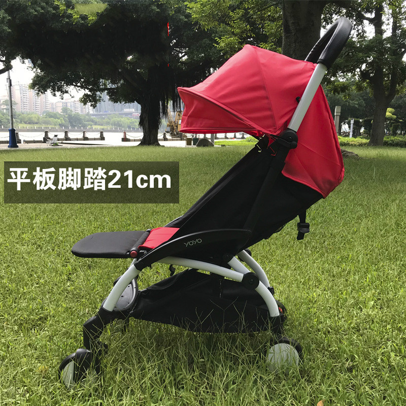 Stroller Accessories for Babyzen Yoyo Baby Time Yoya Foot Rest Baby Throne Infant Carriages 16Cm Feet Extension Pram Footboard baby stroller accessories for yoya yoyo babyzen sun shade cover seat infant pram cushion pad sunshade canopy buggies for babies